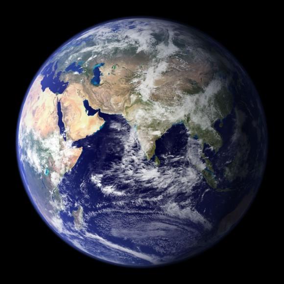 La Tierra en el 2007. Foto: NASA
