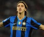 Ibrahimovic en uns estupenda temporada con el Milan