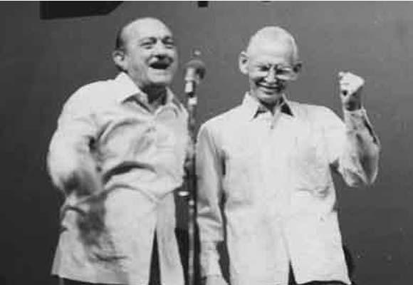 Justo Vega y Adolfo Alfonso, maestros del repentismo cubano