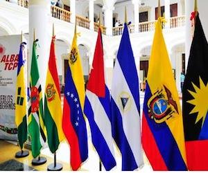 Banderas del ALBA