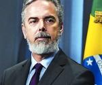 El canciller brasileño, Antonio de Aguiar Patriota