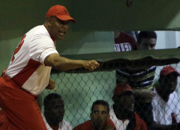 Víctor Mesa, manager de Matanzas. Foto: Ismael Francisco/Cubadebate