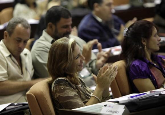 Comisiones de Trabajo de la primera Conferencia del Partido Comunista de Cuba. Foto: Cubadebate
