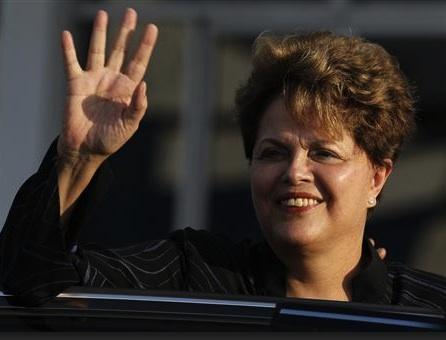 Dilma en La Habana. Foto: Enrique de la Osa / Reuters