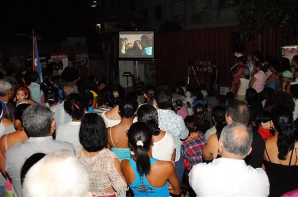 Estrenan documental sobre La Colmenita en San Agustín, La Lisa. Foto: Orlando Pereira.