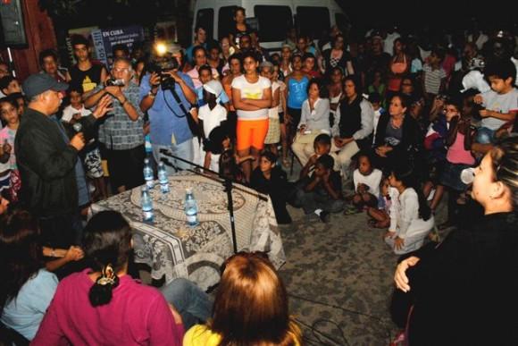 Estrenan documental sobre La Colmenita en San Agustín, La Lisa. Foto: Orlando Pereira