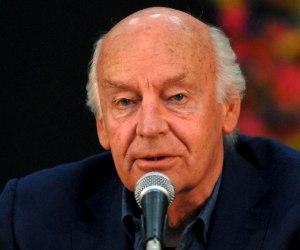 Eduardo Galeano presenta su nuevo libro Los hijos de los días