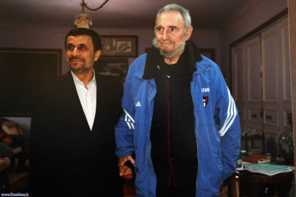 Mahmoud Ahmadinejad: Fidel Castro was a worldwide leader