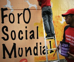 Foro Social Mundial convoca a protesta global contra el capitalismo próximo 5 de junio