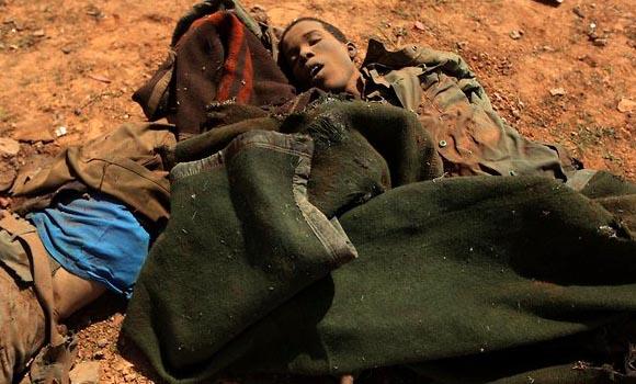 """Huellas de la """"intervención humanitaria"""" de la OTAN.Foto: Reuters"""