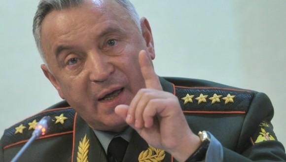 General de ejército Nikolái Makárov