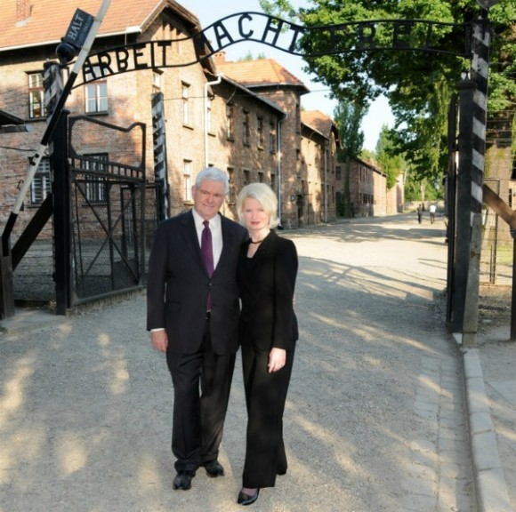 Gingrich en Auscwitz