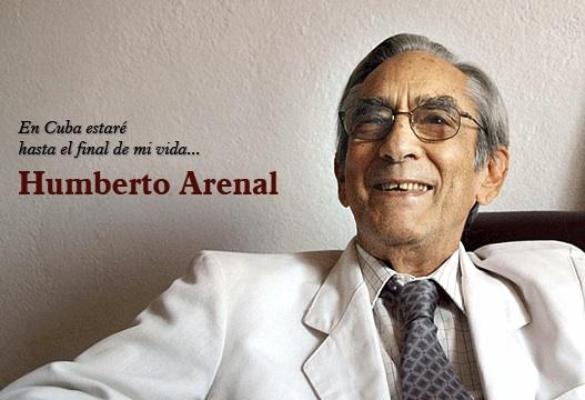 Humberto Arenal. Foto de Cubadebate