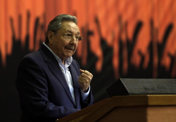 Raúl Castro en la clausura de la Primera Conferencia Nacional del Partido. Foto: Cubadebate