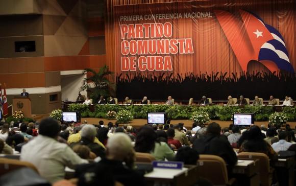 Clausura de la Primera Conferencia Nacional del Partido. Foto: Ismael Francisco.