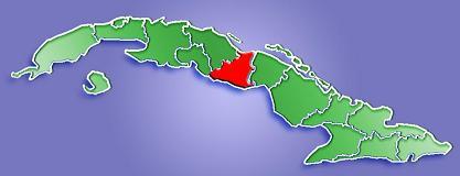 Sancti Spíritus, el lugar del acontecimiento, está en el centro de la Isla.