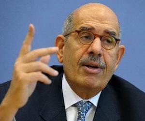 Mohamed El Baradei aún no es primer ministro, asegura presidente interino