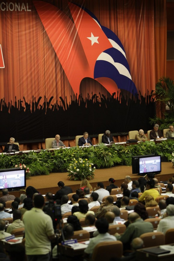 Clausura de la Conferencia Nacional del Partido. Foto: Ismael Francisco