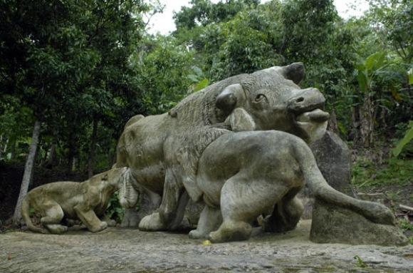 Zoológico de piedra. Foto: Roberto Suárez