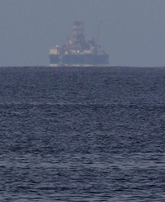 Scarabeo 9 en el horizonte. Foto: Enrique de la Osa/ Reuters
