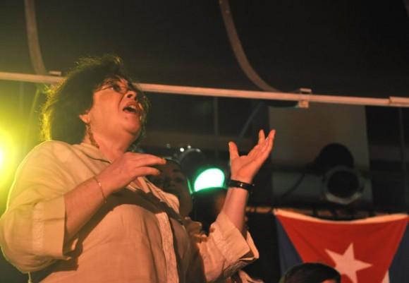 Silvio Rodríguez en Bellas Artes. Fotos: Kaloian