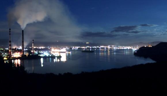 Bahía de Santiago de Cuba. Foto: Luis Antonio (Tony) Gómez Pérez.