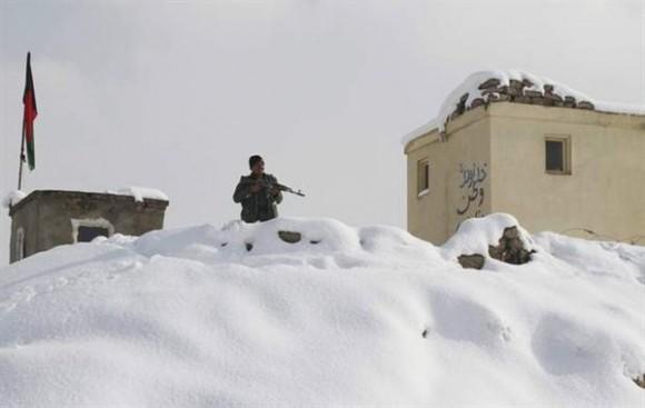 Frío de hasta menos 15 grados en Afganistán