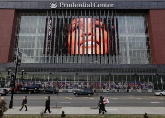 Funerales de Whitney Houston en Nueva Jersey. Foto: AP
