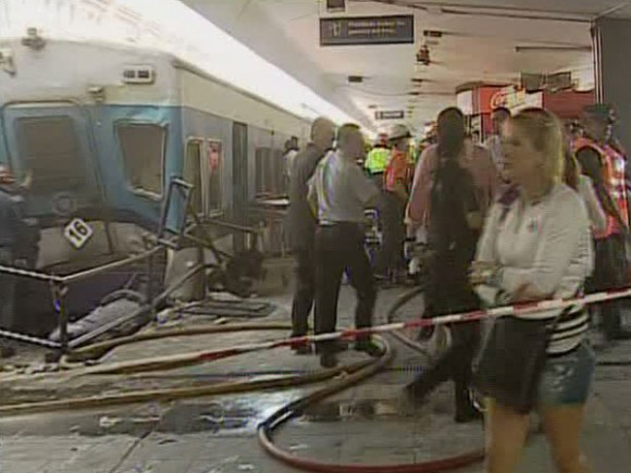 Tren de Buenos Aires, accidente