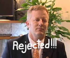 Stacey Campfield, senador republicano de 43 años que ha hecho de la homofobia el eje de su política.