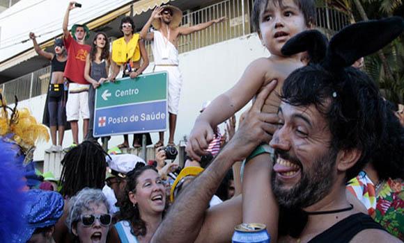 El carnaval se convierte en una tentación que nadie en Brasil puede eludir