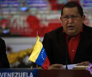Hugo Chávez en la Cumbre del ALBA