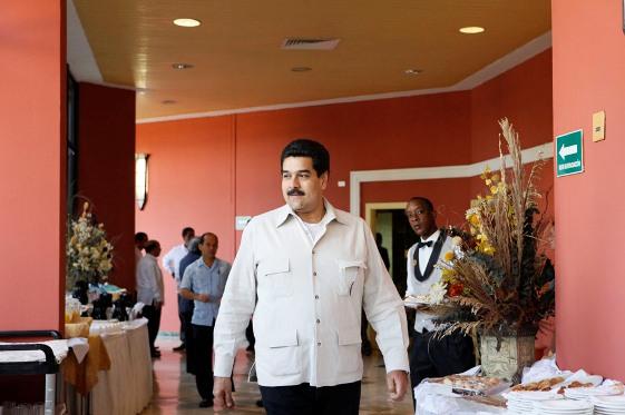 En Canciller de Venezuela Nicolás Maduro, en la reunión de Cancilleres del ALBA en La Habana. Foto: Yenny Muñoa/ CubaMinrex