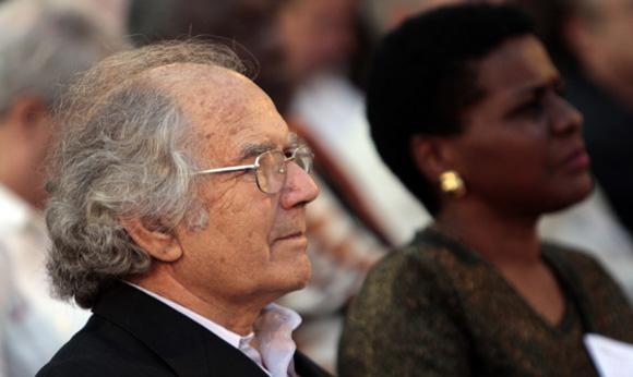 Adolfo Pérez Esquivel, Premio Nobel de la Paz. Foto: Ismael Francisco/Cubadebate