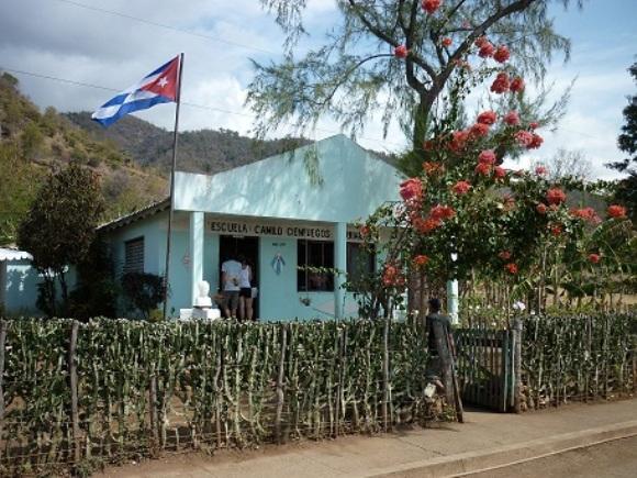 Escuel multigrado de Ocujal del Turquino. Foto: Javier Montenegro/Cubadebate
