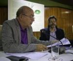 """Miguel Barnet en la presentación de """"Guerrillero del tiempo"""". Foto: Roberto Chile"""