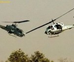 Choque de helicópteros