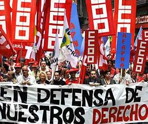 Protestas masivas, fundamentalmente en Madrid y Barcelona