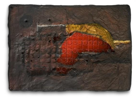Jorge Luis Santos Malditos sueños 2011 mixta-colchón 132 x 193 x 24 b (RGB)