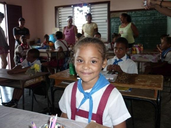 La niña Anabel. Foto: Javier Montenegro/Cubadebate