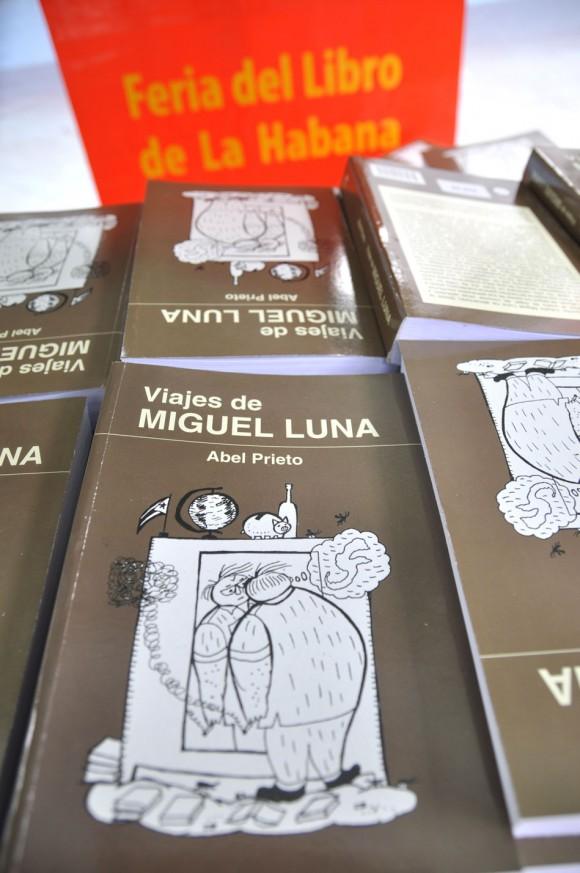 Presentan nueva novela de Abel Prieto en Feria del Libro. Foto: Kaloian