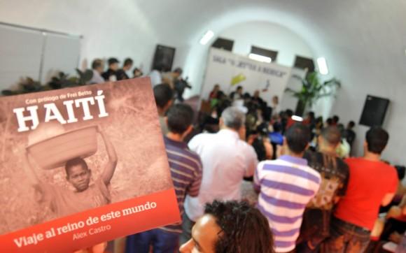 Presentación del libro de Alex Castro. Foto: Kaloian