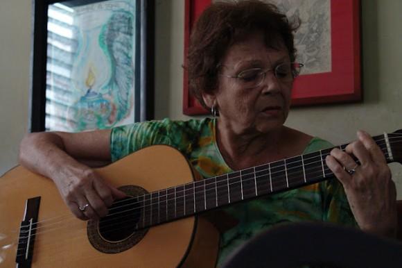 Marta Valdés. Foto: Silvio Rodríguez/ Segunda Cita
