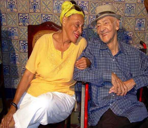 Omara Portuondo y Luis Carbonell, laureados en Santiago de Cuba. Fotos: Sergio Martínez
