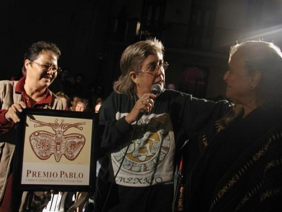 Premio Pablo a Sara. Foto: Centro Pablo