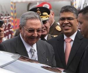Raúl Castro en Venezuela