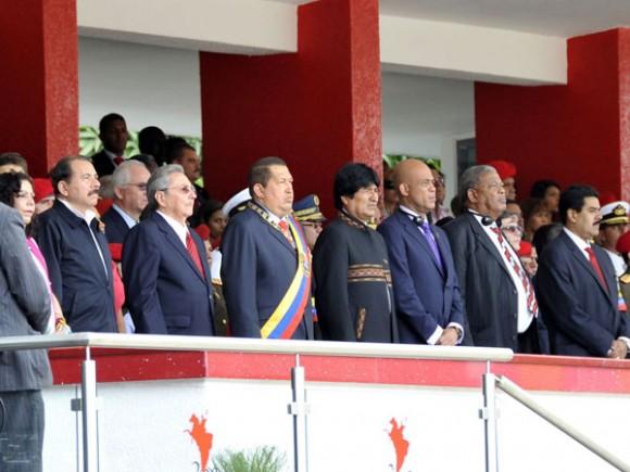 Inaugurada XI Cumbre del ALBA con claros propósitos de defender los derechos de nuestros pueblos. Foto: Estudios Revolución