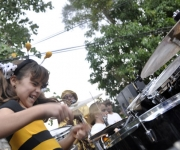 La Colmenita de gira por los barrios. Foto Kaloian.