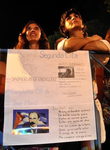 Concierto de Silvio Rodríguez en el barrio de Cayo Hueso. Foto Kaloian.
