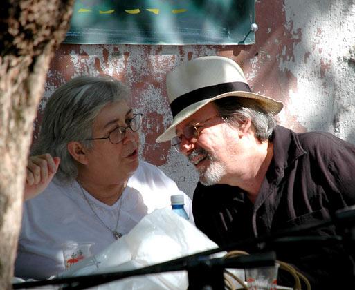 Sara González y Silvio Rodríguez. Foto: Blog Segunda Cita